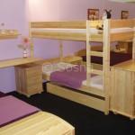 Detská izba – Borovicový nábytok